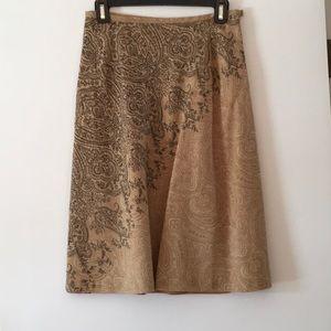 Talbots career skirt fully lined